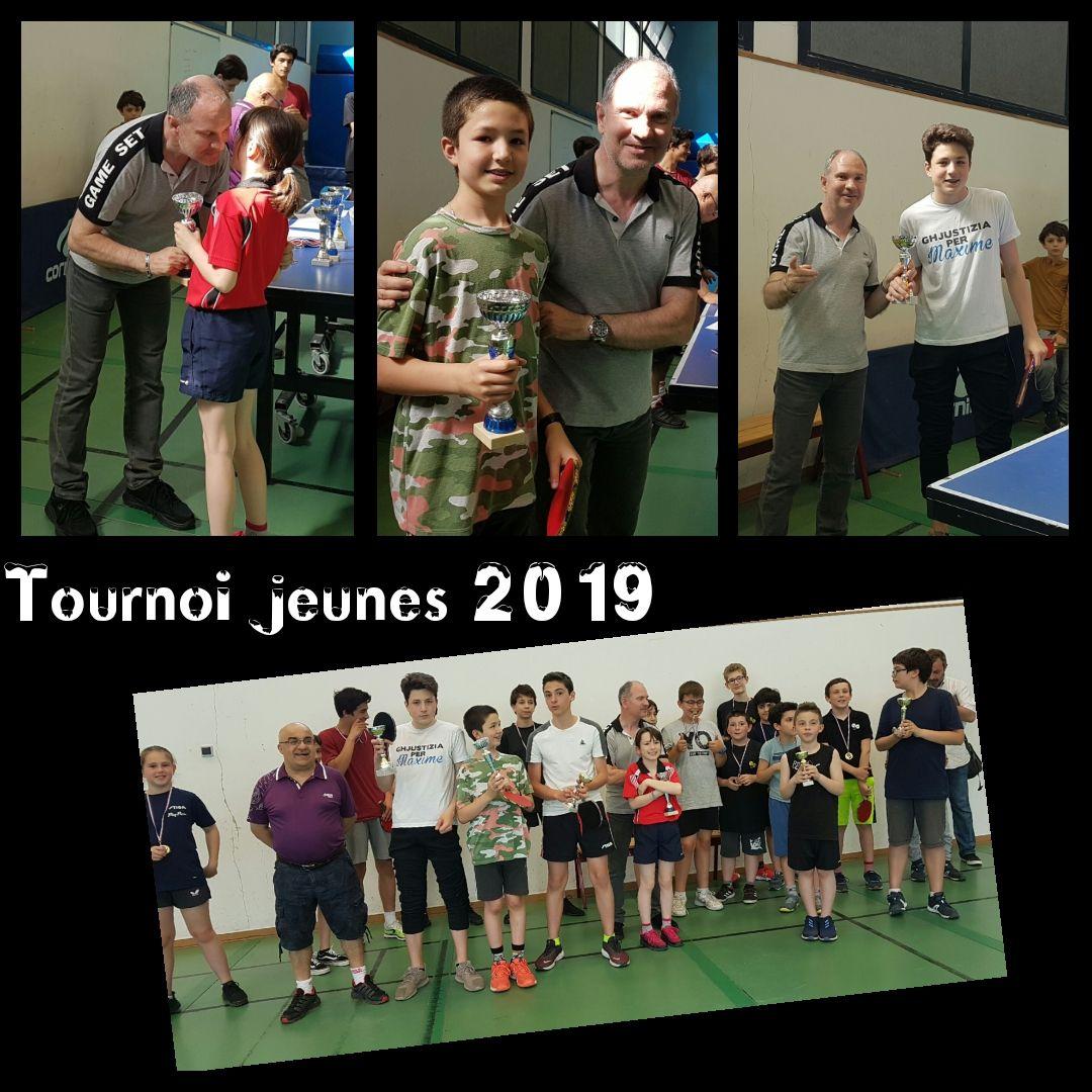 Tournoi jeunes 2019